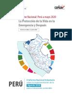 II Informe Nacional Voluntario Peru - Ceplan 20200616