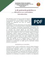 Electrónica de potencia práctica RECTIFICADORES 2019
