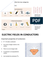 W5 Electric field in material