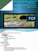 Caractérisation des eaux usées urbaines (gg2)