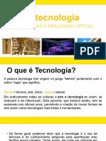 Aula  - Arte e Tecnologia