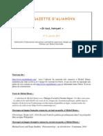Gazette d'Aliahova 13