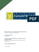 """""""Enfoques de análisis y características de las políticas públicas""""."""