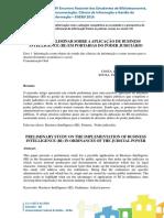 Estudo preliminar sobre a aplicação de Business Intelligence (BI) em portarias do Poder Judiciário