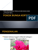 Slide Pokok Bunga Kertas