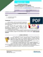 Lengua y Literatura 3ero A y C clase 5- Prof Gôldy  - copia.doc