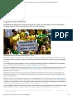 A guerra das culturas - Colunas semanais da DW Brasil 29.05.2019