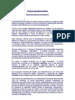 PEDEMONTE, L. (2004). Técnicas Proyectivas gráficas pautas generales para su interpretación