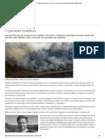 O paciente brasileiro - Colunas semanais da DW Brasil 28.08.2019