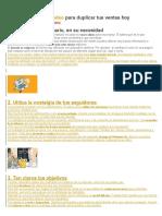 10 TECNICAS DE MERCADEO