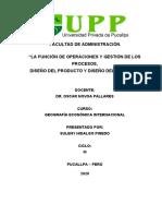 FUNCIÓN DE OPERACIONES