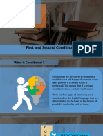 FIRST AND SECOND CONDITIONAL SENTENCE