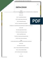 Programação 29.04 I Seminário de Educação Geográfica