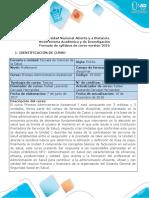 Syllabus del curso Proceso Administrativo Asistencial 1