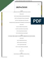 Programação 28.04 I Seminário de Educação Geográfica