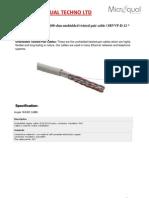24c 100ohm UTP Cable