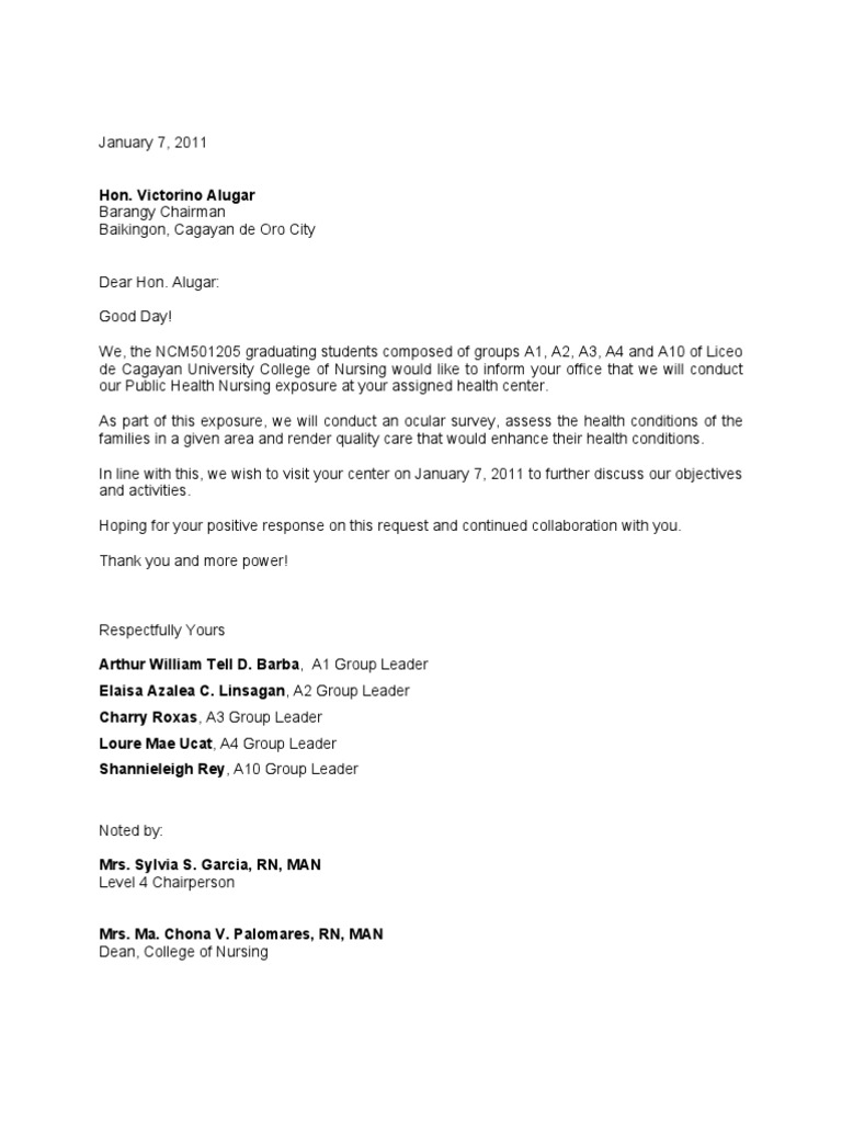 sample letter to request a meeting