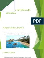 5 lugares turísticos de colombia
