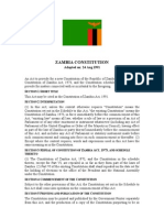 Zambia Constitution (1991)