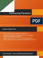 Pantayong Pananaw
