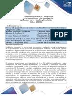 Syllabus del Curso Modelos y Simulacion