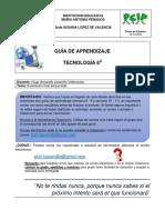 Guía Tecnología 6 Sem12y13