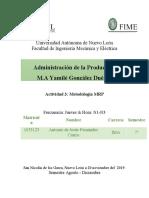 Actividad 3 Metodologia MRP