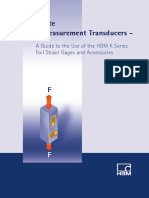 The Route to Measurement Transducers