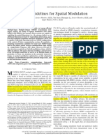 Design Guidelines for Spatial Modulation