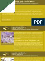 Contato + Informações - Locart Aluguel de Mesas e Cadeiras RJ