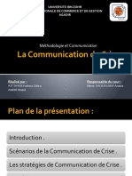 76853049 La Communication de Crise 1