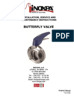 Inoxpa butterfly valve