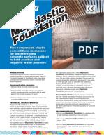 Mapelastic Foundation