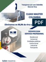 CLEAN MASTER COLOMBIA PRESENTACION