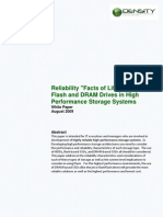 Plugin-Relliability Facts of Life for HDD Flash and DRAM Drives in High Performance Storage