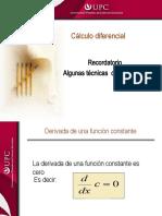 Algunas tecnicas de derivaciòn