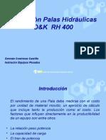 Operación Palas Hidráulicas O&K  HR 400