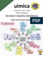identificação de funções organicas