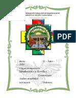 6 INTRODUCCIÓN A LA FILOSOFÍA Y COSMOVISION ANDINO AMAZONICO