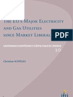 The EU's Major Electricity And Gas Utilities Since Market Liberalization