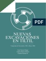 465894271 Nuevas Excavaciones en Tiltil Temporada Noviembre 1983 Mayo 1984 Autores Ivan Caceres Roque Antonio Brunet Merino Claudio Paredes Diaz PDF