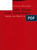 Estrada Juan Antonio - Por Una Etica Sin Teologia - Habermas Como Filosofo De La Religion.pdf