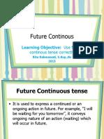 rita future continous