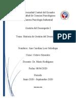 Historia de Gestión del Desempeño.docx