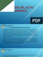 FRAUDE DEL ACTO JURIDICO