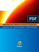 Manual Aquecedor Solar