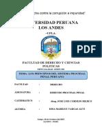 PRINCIPIO PROCESALES PENALES