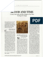 BLOOD AND TIME. Cormac McCarthy and the twilight of the West by Roger D. Hodge