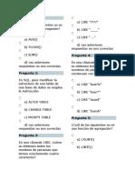 EXAMEN BASE DE DATOS