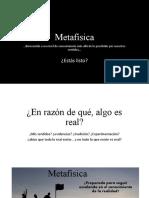Introducción a la Metafísica (1)